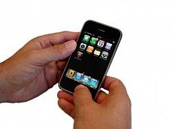 Smartphone in der Hand